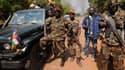 Les rebelles du Séléka, en janvier 2013.