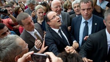 François Hollande le 28 juillet 2012