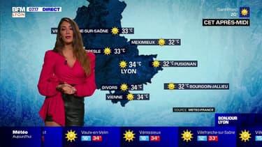Météo à Lyon: début d'une nouvelle vague de chaleur ce jeudi, jusqu'à 34°C l'après-midi