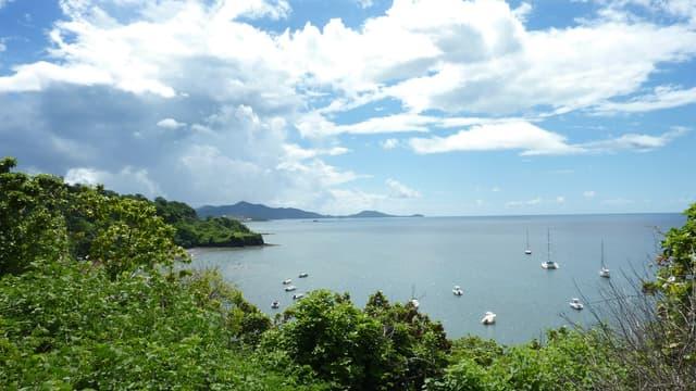 Vue de Mayotte