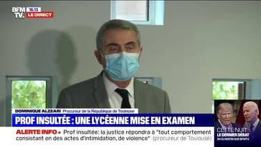 """Procureur de Toulouse sur la professeure insultée: 4 élèves """"se sont excusés, nous avons décidé de privilégier une réponse non-pénale"""""""