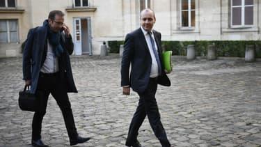 Laurent Berger, secrétaire général de la CFDT à Paris le 7 janvier dernier.