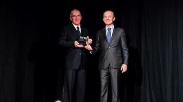 Erick Méjean, Directeur Général de Lamberet,manager de l'année des BFM Awards Rhône-Alpes