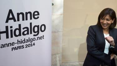 Anne Hidalgo, lundi 23 septembre 2013 à Paris, dans le 19e arrondissement.