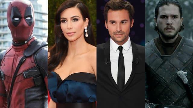 """""""Deadpool"""", Kim Kardashian, Bertrand Chameroy et """"Game of Thrones"""" ont été les sujets les plus recherchés sur Google en 2016"""