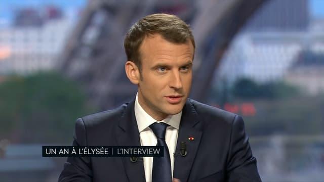 Emmanuel Macron sur BFMTV et Mediapart.