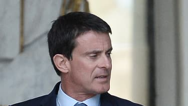 Manuel Valls et François Hollande, le 2 novembre 2016.