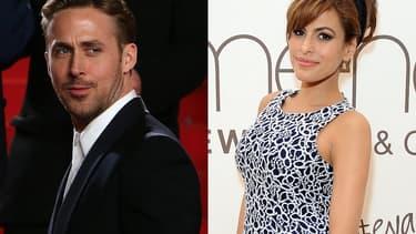 Ryan Gosling et Eva Mendes, deux acteurs terriblement sexy.