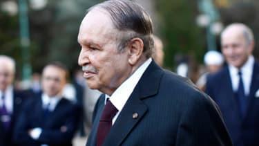 Le président algérien Abdelaziz Bouteflika s'apprête à rencontrer son homologue français François Hollande le 19 décembre 2012