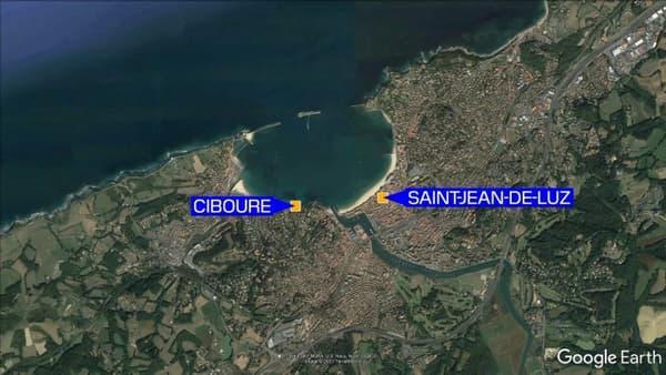Les faits se sont déroulés à Ciboure, près de Saint-Jean-de-Luz.