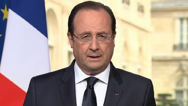 François Hollande lors de son allocution aux Français le 31 mars