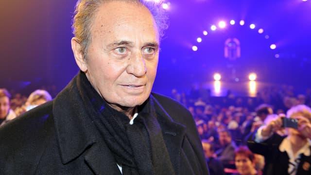 Roger Hanin à un concert de Sylvie Vartan, en 2008.