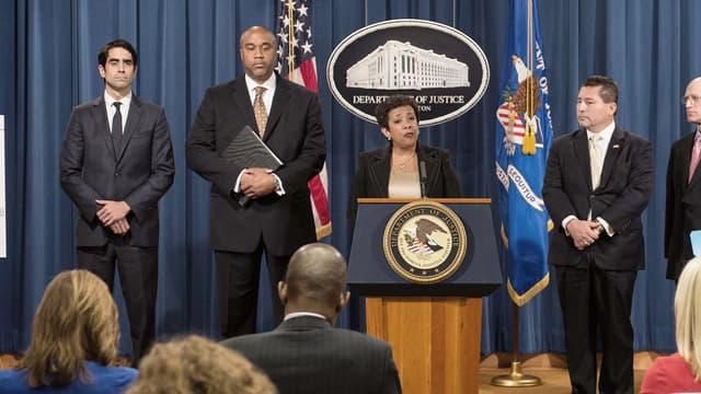 La procureure générale des Etats-Unis, Loretta Lynch