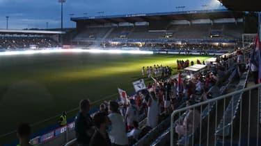 Coupure de courant à Auxerre pendant OL-PSG