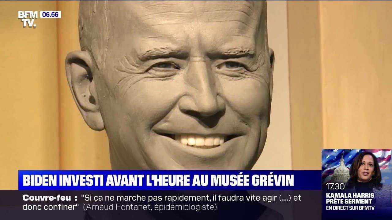 Joe Biden va faire son entrée au musée Grévin à Paris