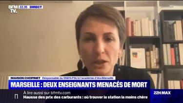 """Marion Chopinet (SNES-FSU): """"Il y a un avant et un après Samuel Paty"""""""
