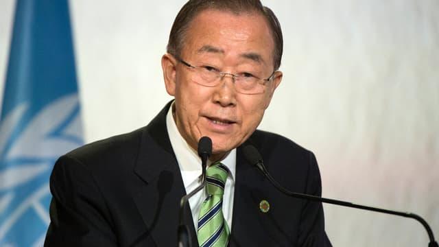 Ban Ki-moon, le 15 novembre 2016.