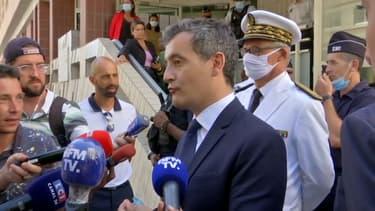 Gérald Darmanin à Toulon, le 4 août 2020.