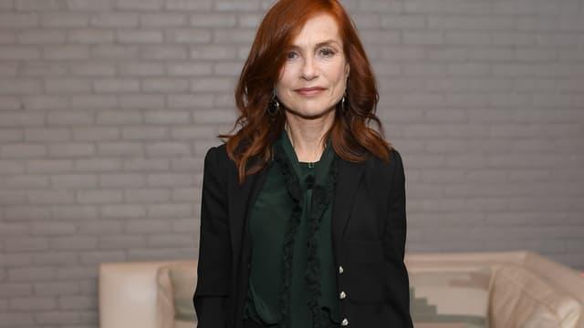 Isabelle Huppert en octobre 2019