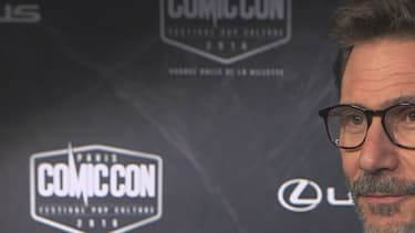 Michel Hazanavicius était invité du Comic Con à Paris, le 22 octobre 2016.