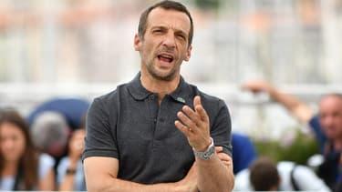 Mathieu Kassovitz en mai 2017 à Cannes