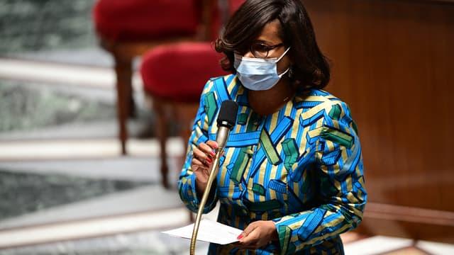 Élisabeth Moreno à l'Assemblée nationale mardi 11 mai.