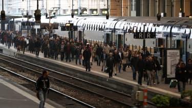 De nombreuses grèves ont touché la compagnie ferroviaire au printemps.
