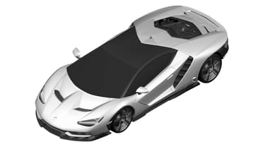 Cette Centenario si attendue à des allures de Maserati futuriste, mais c'est bien une Lamborghini.