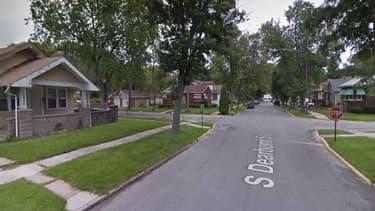 Le quartier de Riverdale, à Chicago où ont été découverts les corps.