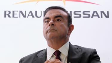 Carlos Ghosn, le PDG de l'alliance Renault-Nissan