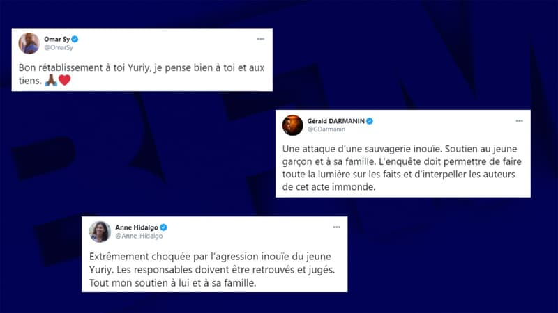 """Acte immonde"", ""lynchage"": l'agression de Yuriy provoque une vague d'indignation et d'émoi"