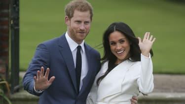 Le prince Harry et Meghan Markle ont annoncé leur mariage, le 27 novembre 2017, à Kensington Palace à Londres.