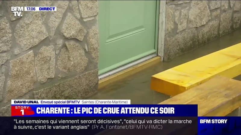 Inondations en Charente-Maritime: à Saintes, la décrue attendue à partir de ce mardi