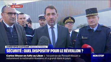 """Christophe Castaner sur le réveillon: """"142.539 personnes seront mobilisées ce soir, dont 100.000 policiers et gendarmes"""""""