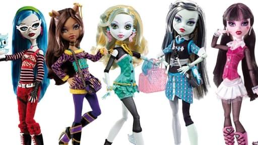 Les Monster High sont en tête des ventes dans les magasins la Grande Récrée.