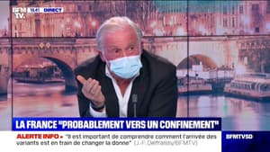 """Face aux variants, Jean-François Delfraissy recommande aux personnes âgées et fragile un """"auto-isolement"""" pour les 2 mois à venir"""