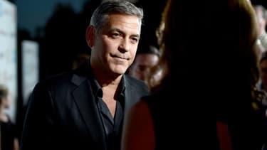 George Clooney recevra un César d'honneur lors de la 42ème cérémonie, le 24 février 2017