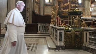 Le pape François à Rome le 1er novembre 2016