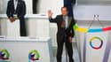 François Hollande lors de la session inaugurale du 14e sommet de la Francophonie à Kinshasa. Le président français a estimé samedi dans la capitale de la République démocratique du Congo, que parler la langue française impliquait de défendre la démocratie