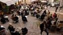 Terrasses de cafés à Paris le 19 mai 2021