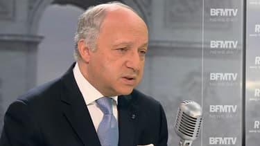 Laurent Fabius, ministre des Affaires étrangères, le 2 mars 2015.