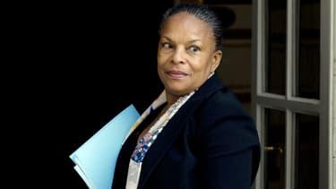 Le ministre de la Justice Christiane Taubira