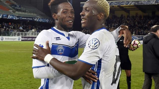 Birama Touré et Mohamed Yattara