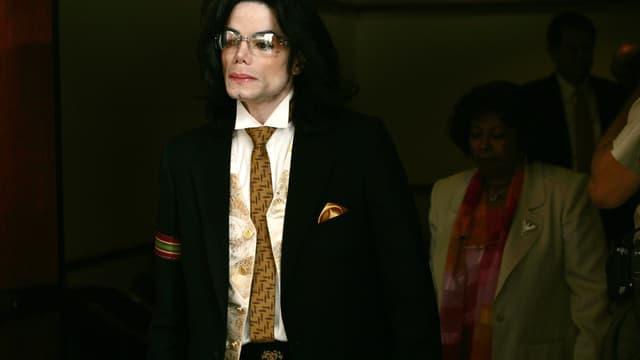 Michael Jackson en 2005