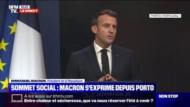 """Emmanuel Macron: """"Nous sommes en train de bâtir la réponse européenne à la pandémie"""" de Covid-19"""