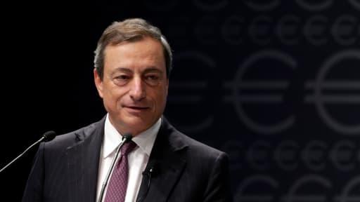 Mario Draghi, ici en Lettonie, le 12 septembre dernier.
