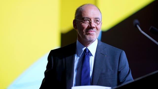 Stéphane Richard, le PDG d'Orange (ici en photo), a rencontré à plusieurs reprises Vincent Bolloré