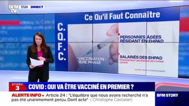 Covid-19: la Haute Autorité de Santé préconise de vacciner en priorité les résidents des Ehpad