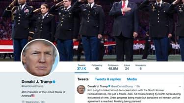 """Combien de personnes au total Trump a-t-il bloqué sur Twitter? """"plusieurs centaines"""", selon Ujala Sehgal, porte-parole de l'institut Knight de l'université Columbia, un institut spécialisé dans la défense de la liberté d'expression"""