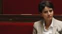 Najat Vallaud-Belkacem le 7 janvier 2014 à l'Assemblée nationale.
